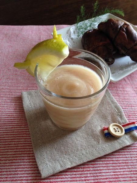 桃と大根のスムージー
