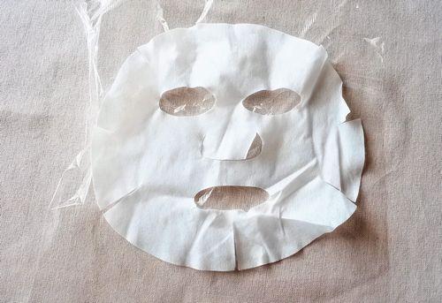 ローションパック用のシートマスク